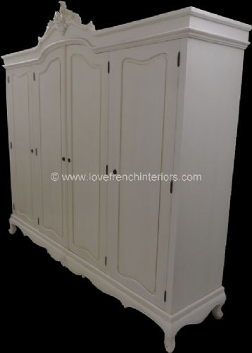 Rochelle Rococo Wardrobe in your choice of colour and size